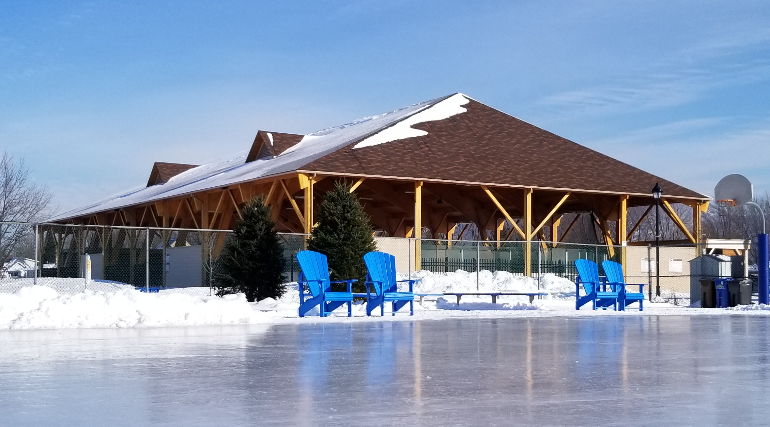 Ouverture de la patinoire réfrigérée 2020-2021